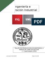 TP Final - Taller de Produccion de Bioetanol a Partir de Azucar