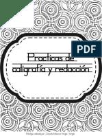 Practicas de Caligrafía y Redacción
