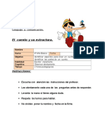 Ficha 6 Lenguaje Unidad 4to Clase 10