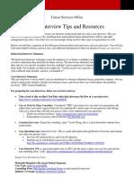 Case Intervien Mmw Tips and Resources