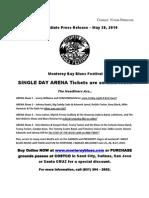 Monterey Bay Blues Festival 2010 PressRelease