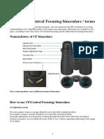 Binoculars a Guide by Nikon