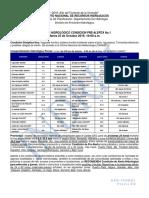 Boletín Hidrológico Condición Pre-Alerta No.1 25-10-2016