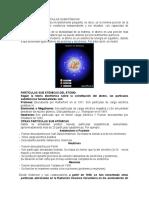 El Átomo y Sus Partículas Subatómicas