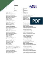Cancion Anderson. EJERCICIO 4