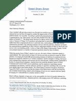 DDoS Letter to Chairman Wheeler