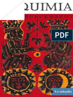 Alquimia Significado e Imagen Del Mundo - Titus Burckhardt