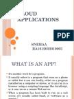Cloud Applications Ppt