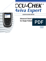 Accu Chek Aviva Expert Advanced Owners Booklet