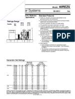 Specification Sheet - g4139 - Kohler Gas Generator