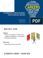 Alternative Career Pathways for Psychology Majors_2016