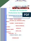 parametros termodinamicos