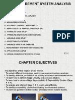 M4 - Measurement System Analysis
