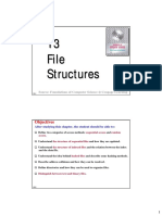 CS Ch13 File Structures