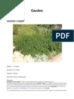 Plant Info