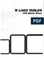 BS449 - Safe Load Tables