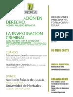 Eventos Facultad de Ciencias Juridicas