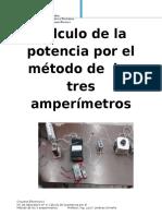 Metodo de Los Tres Amperimetros