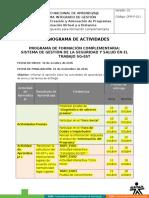 Cronograma Actividades Sg Sst (1307700)
