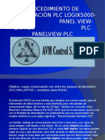 Comunicacion Cable Rs232 Plc y Panelview