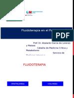 Fluidoterapia en El Paciente Crítico