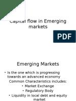 Capital flow