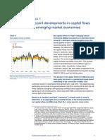 Recent developments in capital flow in emerging markets