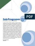 Subprogramas o ProcedimientosV2
