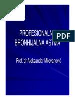 Profesionalna Bronhijalna Astma