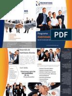 Brochure de Habilidades Blandas