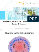 GLP Auditing and Good Laboratory