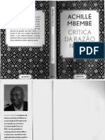 Achille Mbembe - Crítica Da Razão Negra