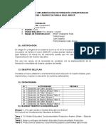 Esquema Plan General PPFF