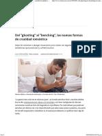 Del ghosting al _benching, las nuevas formas de crueldad romántica - 04.08.2016 - LA NACION.pdf