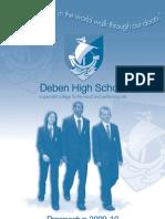 Deben High School 2009-10 Prospectus