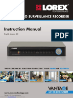 Vantage Lh110 Eco Series Instruction Manual