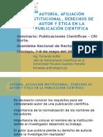 4A ANR Autoria Afiliacion Institucional y Etica