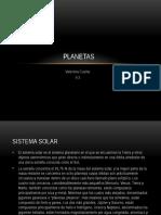 Planetas y Estrellas