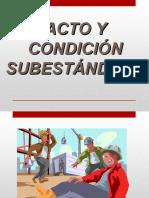 Acto y Condición Subestándard