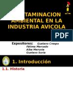 Contaminacion Ambiental en La Produccion Avicola