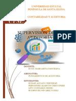 Supervision en El Proceso de Auditoria (1)