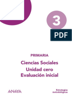 3º Ciencias Sociales - Evaluación Inicial