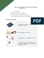 Controlar Motores y Dispositivos de Alta Potencia Usando Transistor