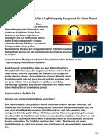 Kopfhorerparty.de Kopfhörerparty