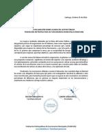 Declaración Pública II - MSP FEMEFUM