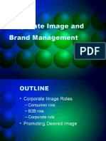 Corporate Image and Brand Management - Chp2
