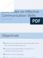 Neat Slides on Communication Skills