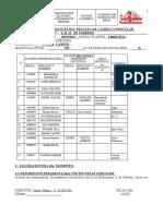 Avances del 2°momento tranformación Curricular U.E.N 12 de Febrero. Venezuela.