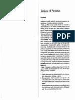 Revision of Phonetics