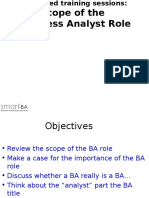 01 Scope of the BA Role